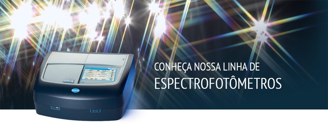Conheça nossa linha de Espectrofotômetros